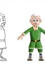 Old man grattus Turn around 4