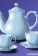 teapot and cups mkillustration.net